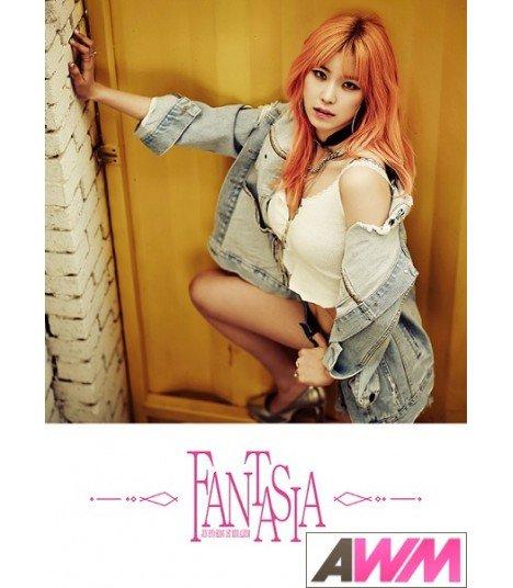 Jeon Hyo Sung (전효성) Mini Album Vol. 1 - Fantasia (Special Edition) (édition limitée coréenne)