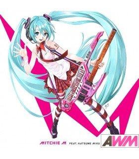 Mitchie M feat. Hatsune Miku (初音ミク) Greatest Idol (ALBUM+DVD) (édition limitée taiwanaise)