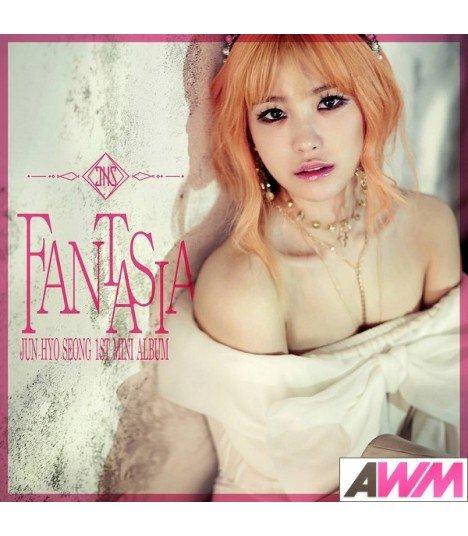 Jeon Hyo Sung (전효성) Mini Album Vol. 1 - Fantasia (édition normale coréenne)