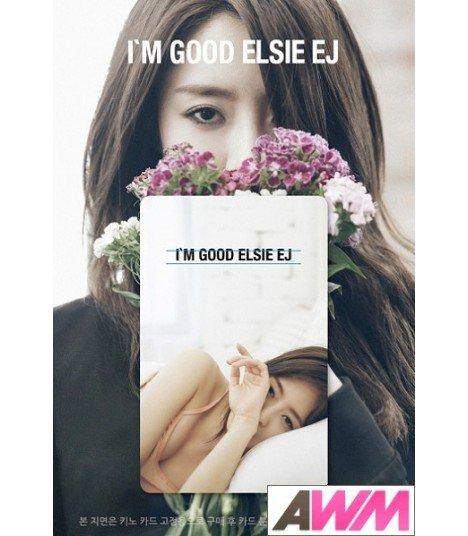 ELSIE (엘시) Mini Album Vol. 1 - I'm good (Kihno Digital Album / Music Smart Card) (édition coréenne)