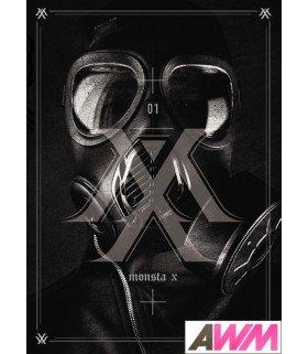 Monsta X (몬스타엑스) Mini Album Vol. 1 - Trespass (édition coréenne)