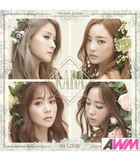 KARA (카라) Mini Album Vol. 7 - In Love (édition coréenne)