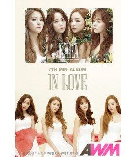 KARA (카라) Mini Album Vol. 7 - In Love (NFC) (Kihno Digital Album / Music Smart Card) (édition coréenne)
