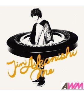 Jin Akanishi (赤西仁) Me (Type A / ALBUM+DVD) (édition limitée japonaise)