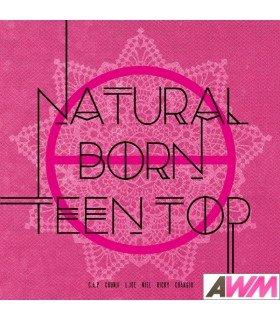 Teen Top  (틴탑) Mini Album Vol. 6 - Natural Born TEEN TOP (Passion Version) (édition coréenne)