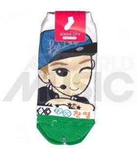 EXO - Socquettes XOXO - Chanyeol