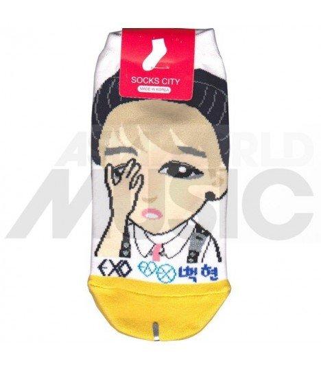 EXO - Socquettes XOXO - Baekhyun