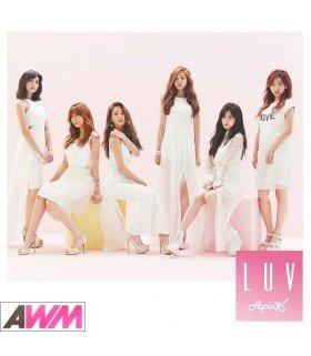 Apink - LUV (Japanese Version) (SINGLE+DVD) (édition taiwanaise)