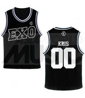 EXO - Maillot de basketball EXODUS - KRIS (BLACK)