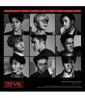 Super Junior (슈퍼주니어) Special Album - Devil (édition coréenne)