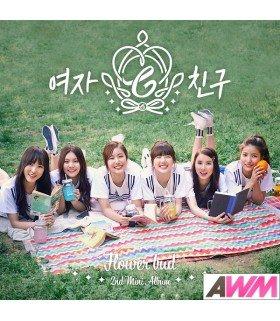 GFRIEND (여자친구) Mini Album Vol. 2 - Flower Bud (édition coréenne)