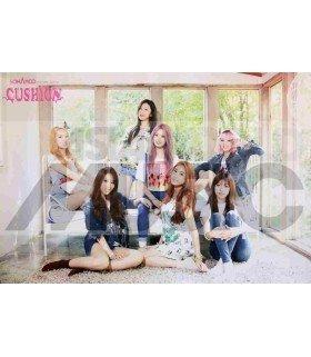 Affiche officielle Sonamoo 2nd Mini Album - CUSHION (édition normale)
