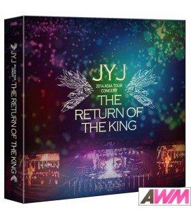 JYJ (JEJUNG / YUCHUN / JUNSU) THE RETURN OF THE KING - JYJ 2014 ASIA TOUR CONCERT (4DVD) (édition limitée coréenne)