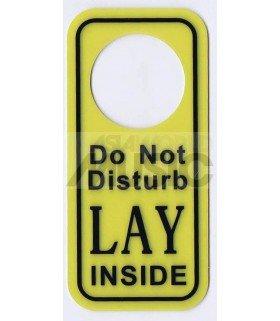 LAY (EXO) - Pancarte Do Not Disturb LAY INSIDE