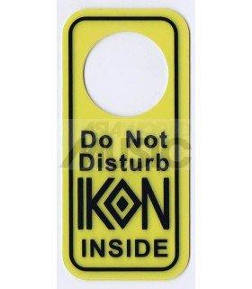 IKON - Pancarte Do Not Disturb IKON INSIDE