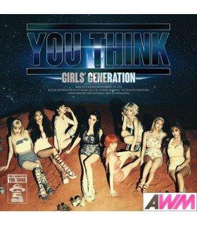 Girls' Generation (소녀시대) Album Vol. 5 - YOU THINK  (édition coréenne)