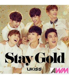 U-Kiss - Stay Gold (SINGLE+DVD) (édition japonaise)