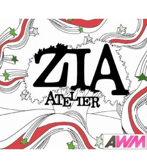 Zia (지아) Mini Album - Atelier (édition coréenne)