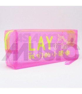 EXO - Trousse EXO-L - LAY (NEON PINK)