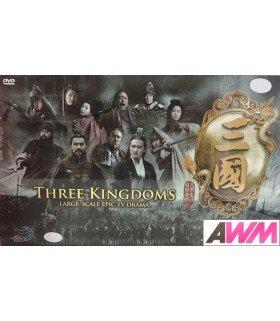 Three Kingdoms (三国) Coffret DVD Drama intégral Chinois (CCTV) (Import)