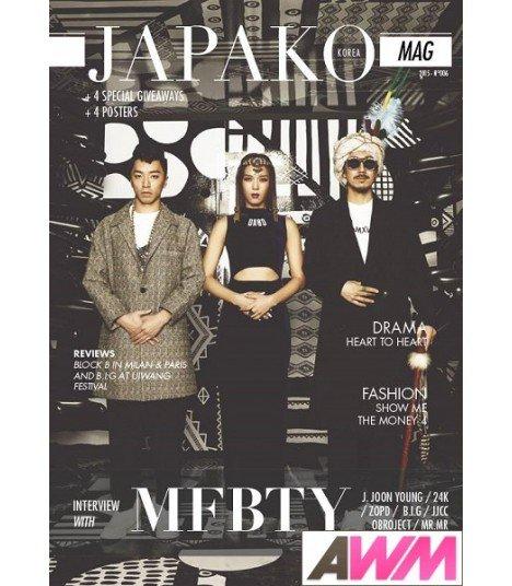 JAPAKO Mag - magazine numéro 6 (2015) (Anglais)