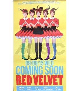 Affiche officielle Red Velvet - THE RED (TYPE C)