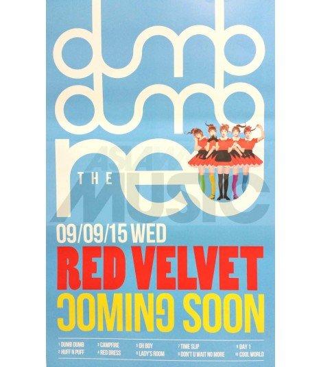 Affiche officielle Red Velvet - THE RED (TYPE D)