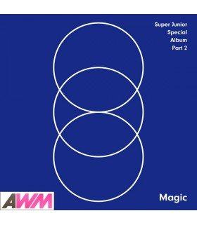 Super Junior (슈퍼주니어) Special Album Part. 2 - Magic (édition coréenne)