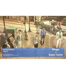 Affiche officielle Super Junior Special Album - MAGIC (Type A)