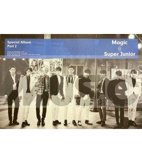 Affiche officielle Super Junior Special Album Part 2 - MAGIC (Type B)