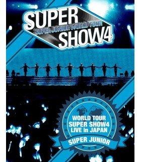 Super Junior - SUPER JUNIOR WORLD TOUR SUPER SHOW4 LIVE in JAPAN (3 Blu-ray) (édition limitée japonaise)