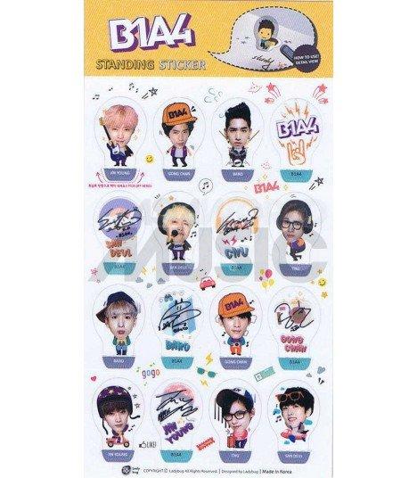 B1A4 - Standing Sticker 3D K-POP 001