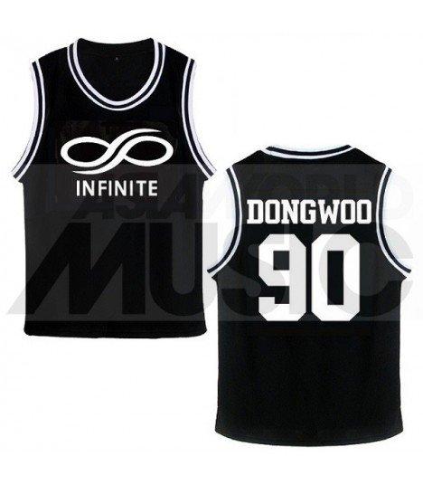 INFINITE - Maillot de basketball Infinite Effect - DONGWOO 90 (BLACK)