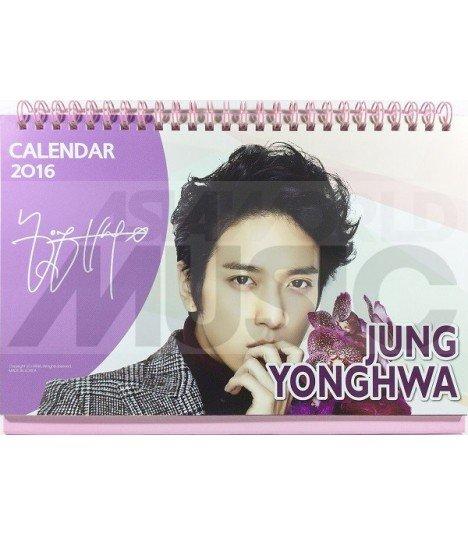 Jung Yong Hwa (CNBLUE) - Calendrier de Bureau 2016 / 2017 (+Stickers)