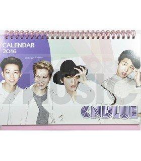 CNBLUE - Calendrier de Bureau 2016 / 2017 (+Stickers)