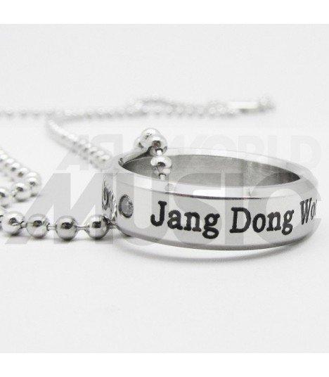 INFINITE - Collier Bague Infinite Birthday - Dongwoo (Double collier)