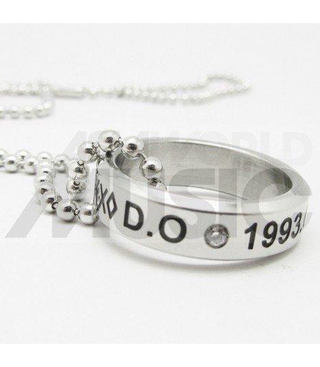 EXO - Collier Bague EXO Birthday - D.O. (Double collier)