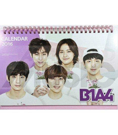 B1A4  - Calendrier de Bureau 2016 / 2017 (+Stickers)
