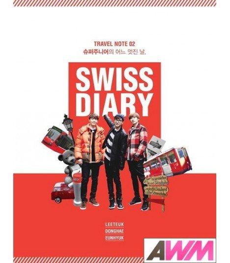 Super Junior (슈퍼주니어) SUPER JUNIOR SWISS DIARY (édition coréenne)