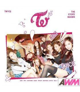 TWICE (트와이스) Mini album Vol. 1 - The Story Begins (édition coréenne)