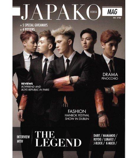 JAPAKO Mag - magazine numéro 7 (2015) (Anglais)