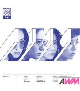 f(x) (에프엑스) Vol. 4 - 4 WALLS (WHITE VERSION) (édition coréenne)