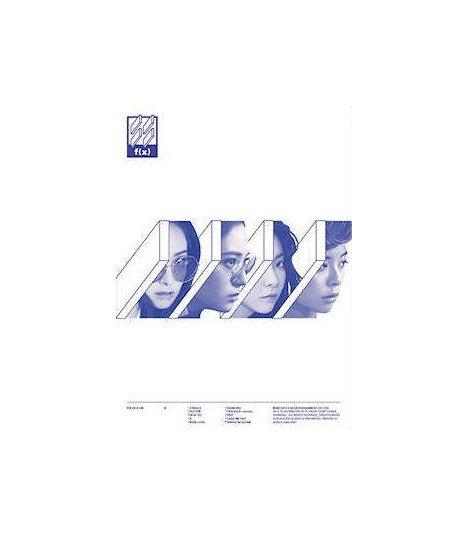 Affiche officielle f(x) (에프엑스) Vol. 4 - 4 WALLS (Type C