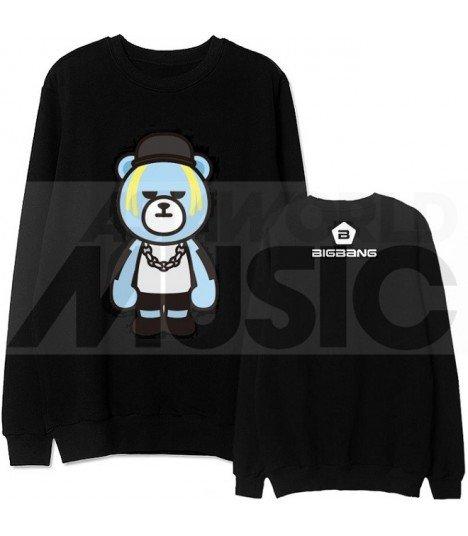 BIGBANG - Sweat KRUNK X BIGBANG - TAEYANG (Black / Coupe unisexe)