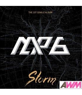 M.A.P6 (엠에이피식스) 1st Single Album - Storm (édition coréenne)