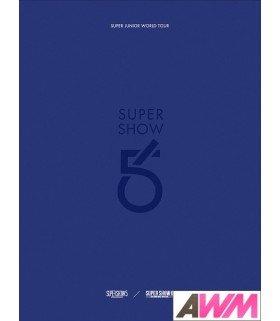 Super Junior (슈퍼주니어) Super Junior World Tour [Super Show 5&6] (4CD) (édition coréenne)