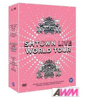 SMTOWN LIVE WORLD TOUR IN SEOUL (5DVD + PHOTOBOOK) (édition coréenne)