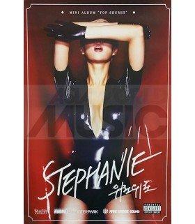 Affiche Officielle Stephanie Mini Album - Top Secret