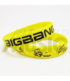 BIGBANG - Bracelet Fashion 3D - BIGBANG SIGNATURE (YELLOW)