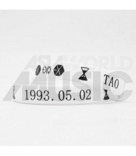 Bracelet EXO BIRTHDAY - TAO (WHITE) (NEW MODEL)